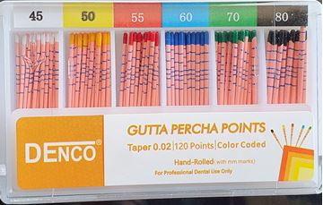 Resim Gutta Percha 45-80 Assorty